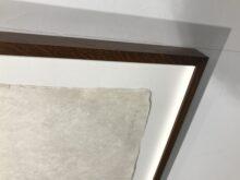 Conservation Framing, original artwork glued to museum board