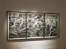Custom Floater Showcase, 3 frames made to look like 1 large frame- Santeri Tuori